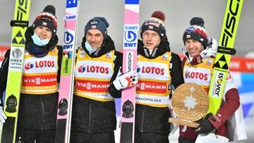 PŚ w Zakopanem: Drugie miejsce Polaków w konkursie drużynowym!
