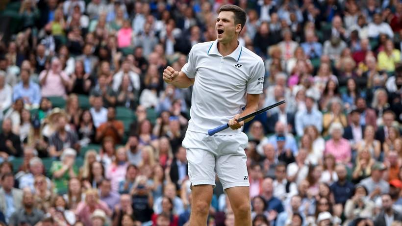 Wimbledon: Zarobki Huberta Hurkacza. Ile Hurkacz zarobił za dojście do półfinału?