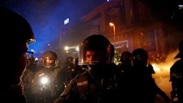 Co najmniej 76 policjantów rannych w starciach z antyglobalistami przed szczytem G20