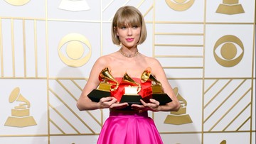 Nagrody Grammy rozdane. Wieczór należał do Taylor Swift i Eda Sheerana