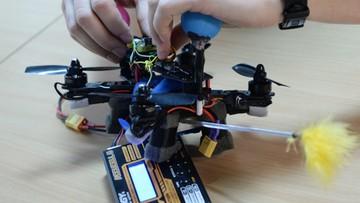 Robot-zapylacz powstał w warszawskim laboratorium. Może zastąpić pszczoły