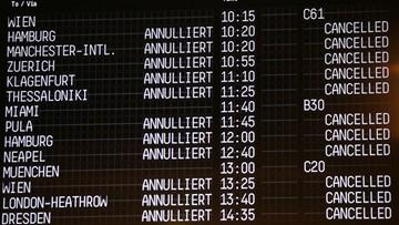 Niemcy: strajk sparaliżował działalność linii Eurowings i Germanwings