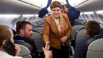 """""""Niczego się nie boimy"""" - premier Szydło o opinii Komisji Europejskiej"""