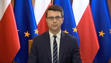 """""""Graffiti"""": rzecznik rządu Piotr Müller o drugim lockdownie"""
