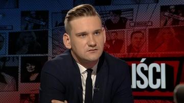 """""""Wiem, że były wznoszone toasty za zniszczenie mnie"""". Jakub Dymek w programie """"Skandaliści"""""""