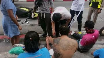 Policjant z Wyszkowa ratował ofiary wypadku w Tajlandii
