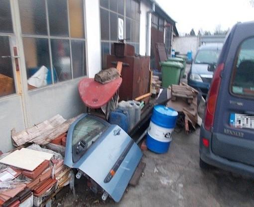 Właściciel warsztatu prowadził recykling pojazdów bez stosownych zezwoleń