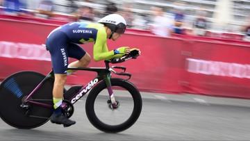 Tokio 2020: Primoz Roglic najlepszy w jeździe indywidualnej na czas. Maciej Bodnar w drugiej dziesiątce