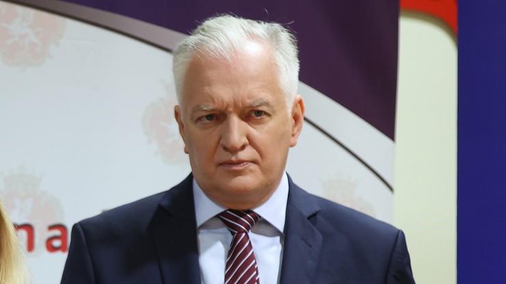 Zjednoczona Prawica. Andrzej Sośnierz: Porozumienie Gowina jest na pograniczu wyjścia z koalicji