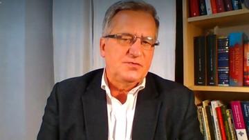 Były prezydent Bronisław Komorowski zakażony koronawirusem