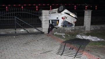 18-letni kierowca z promilami. Uciekł z miejsca wypadku, zostawiając rannych pasażerów