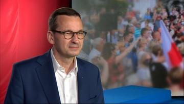 Premier Morawiecki w Polsat News apeluje do wyborców przed II turą