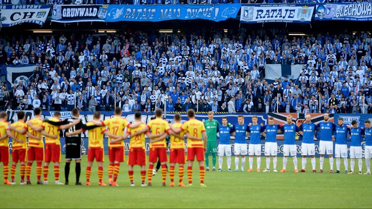 Mecze Lotto Ekstraklasy poprzedzi minuta ciszy dla uczczenia ofiar katastrofy górniczej w Karwinie